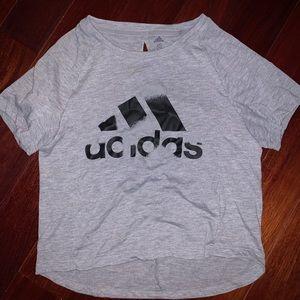 Adidas Women's Gray Top
